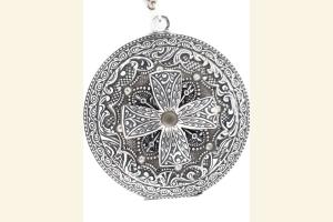 Silver Fancy Locket